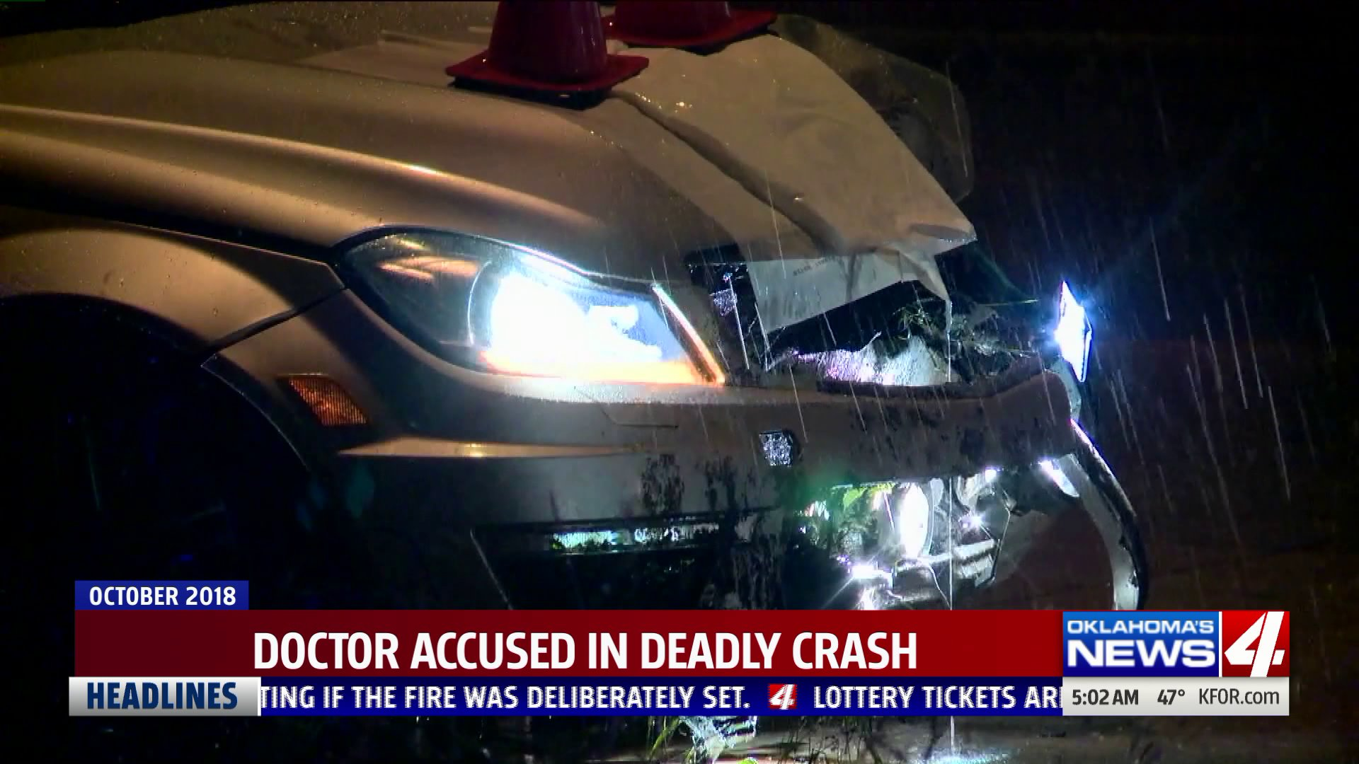 Doctor accused in deadly crash