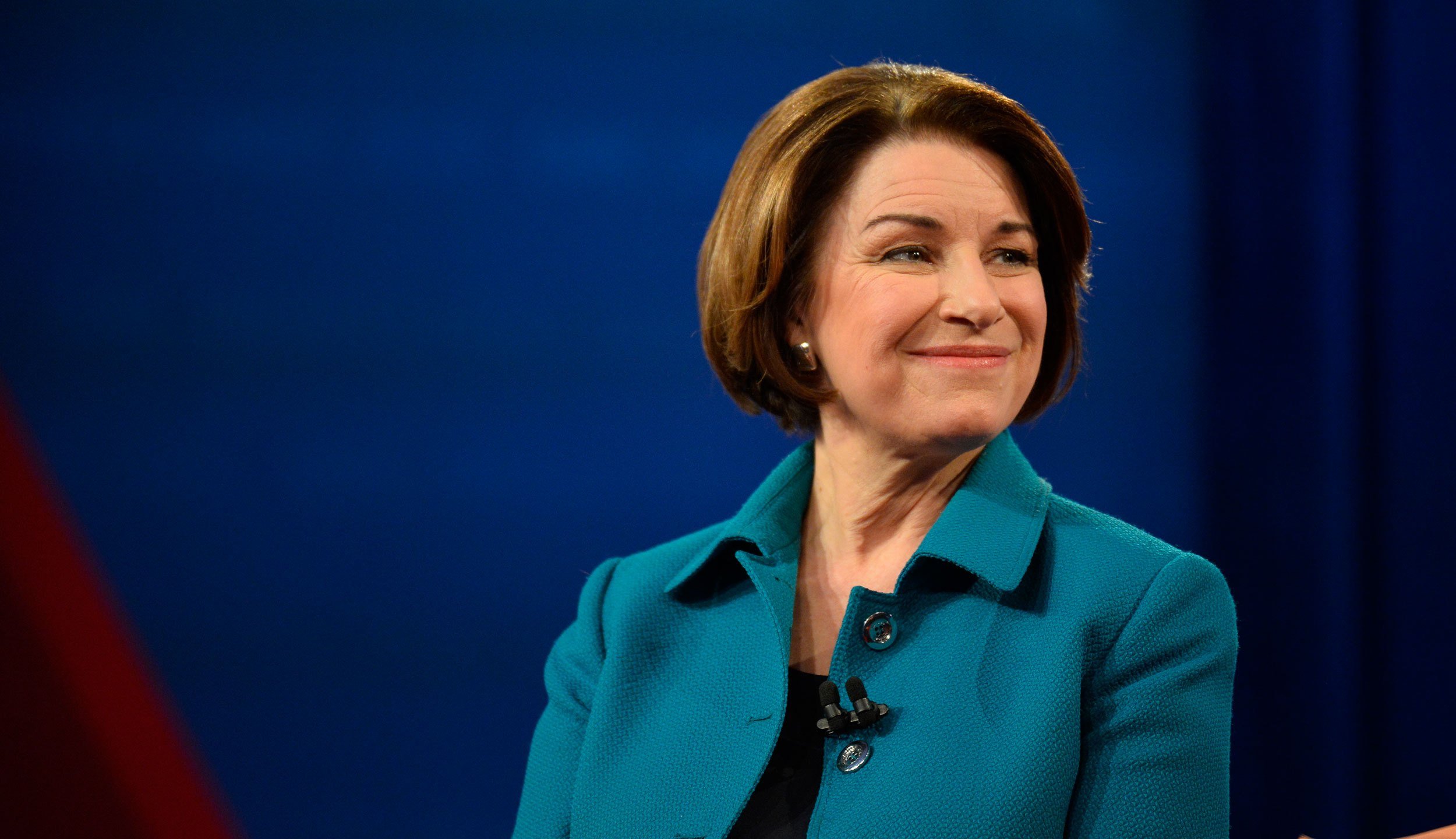 Photo goes with story about Klobuchar