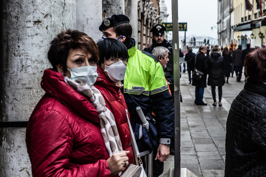 Coronavirus Emergency In Veneto, Italy