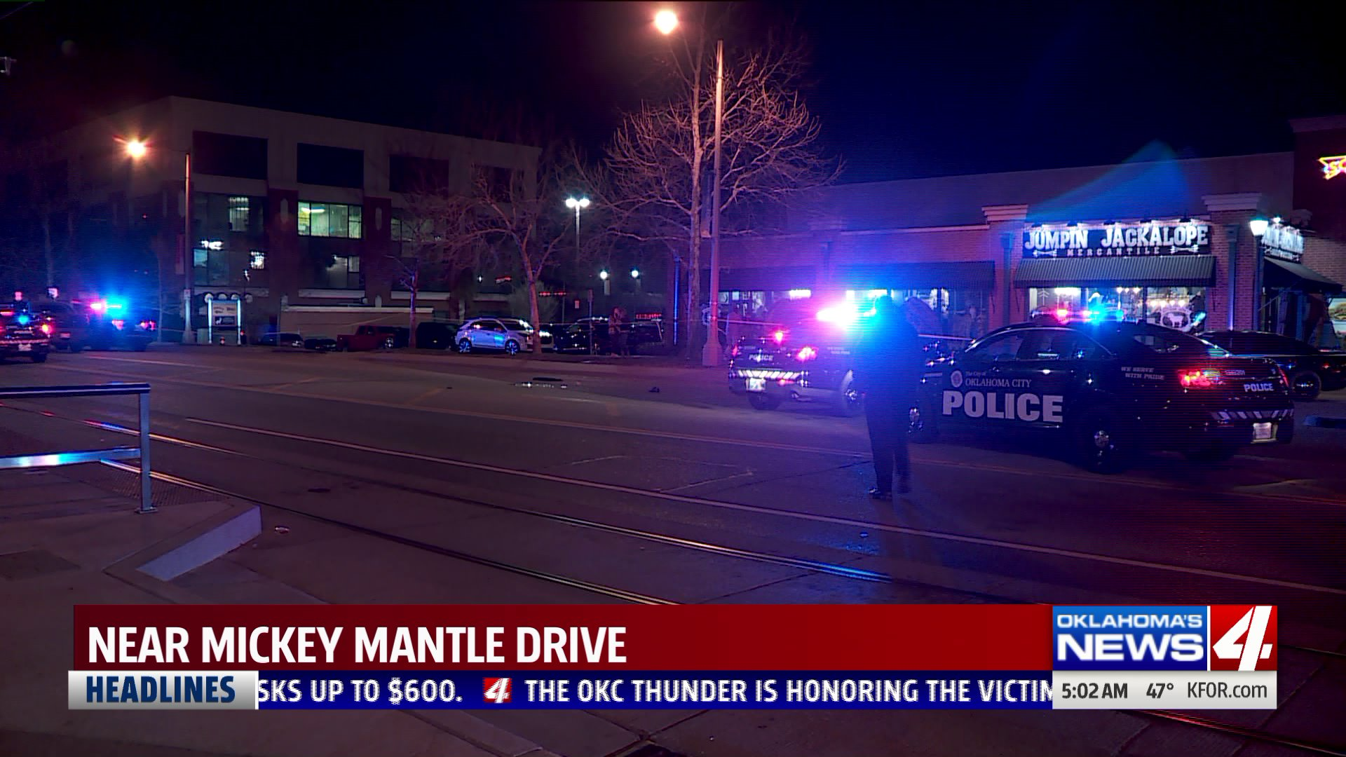Man hit by car in Bricktown