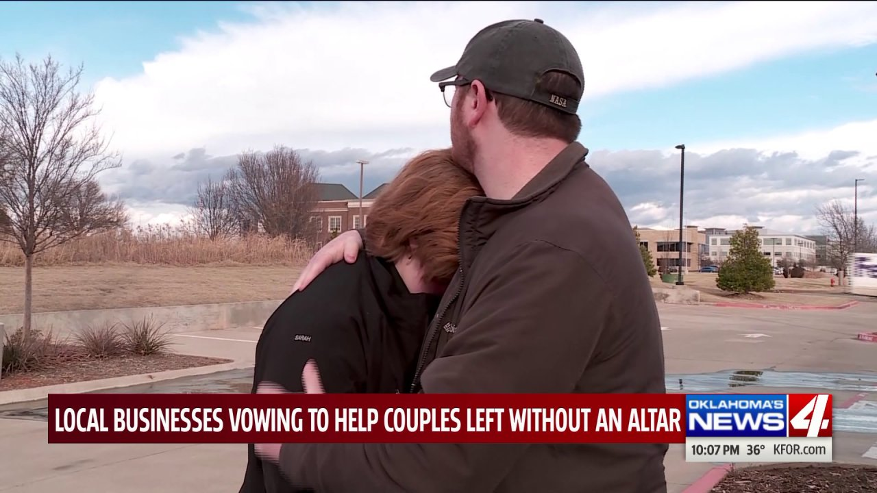 Oklahomans step up to help couples scrambling after wedding venue suddenly closes its doors