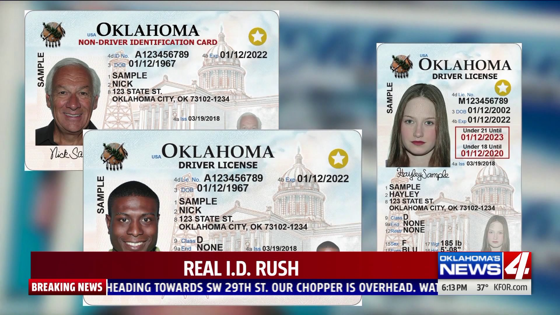 With only a third of Americans equipped with Real ID, concerns are mounting ahead of the looming federal Oct. 1 deadline. In Oklahoma, however, state officials are confident they can get it done.