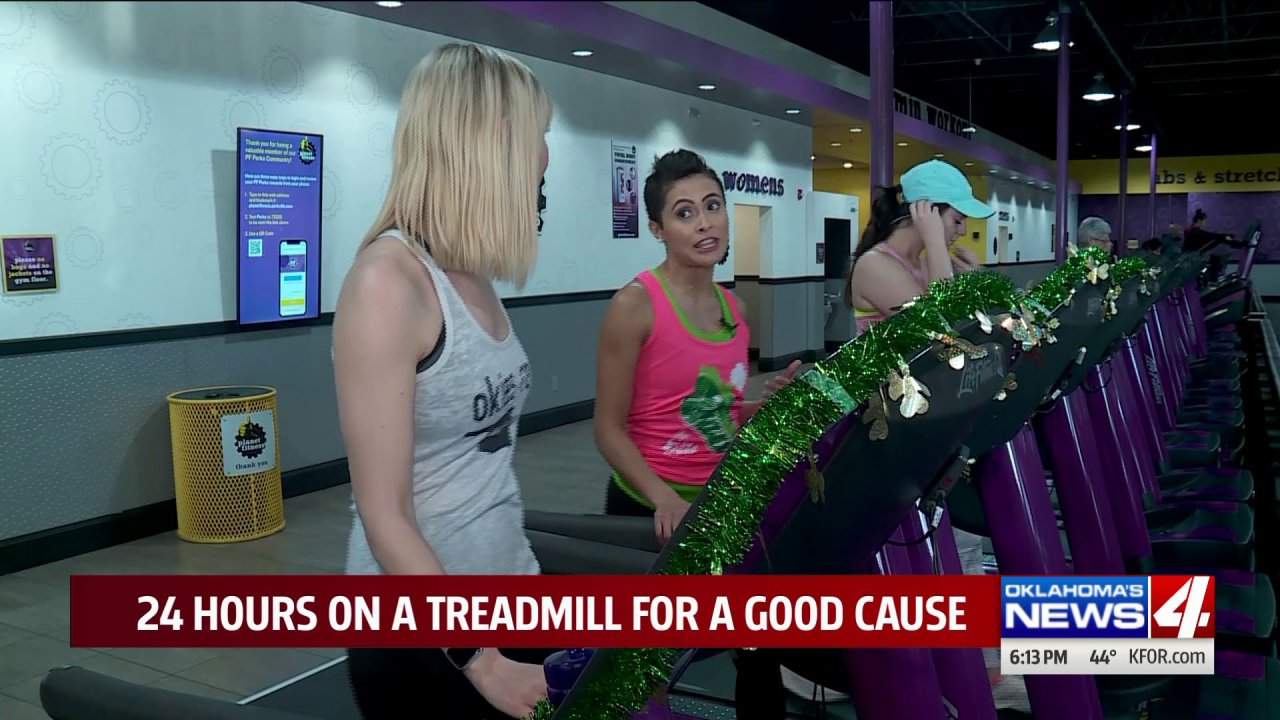 Woman walks 24 hours straight for Girl Scouts of Western Oklahoma Camp