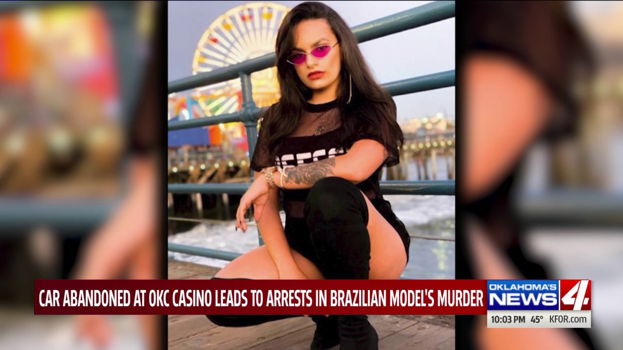 Abandoned car at Remington Park leads to arrests in Brazilian model's murder