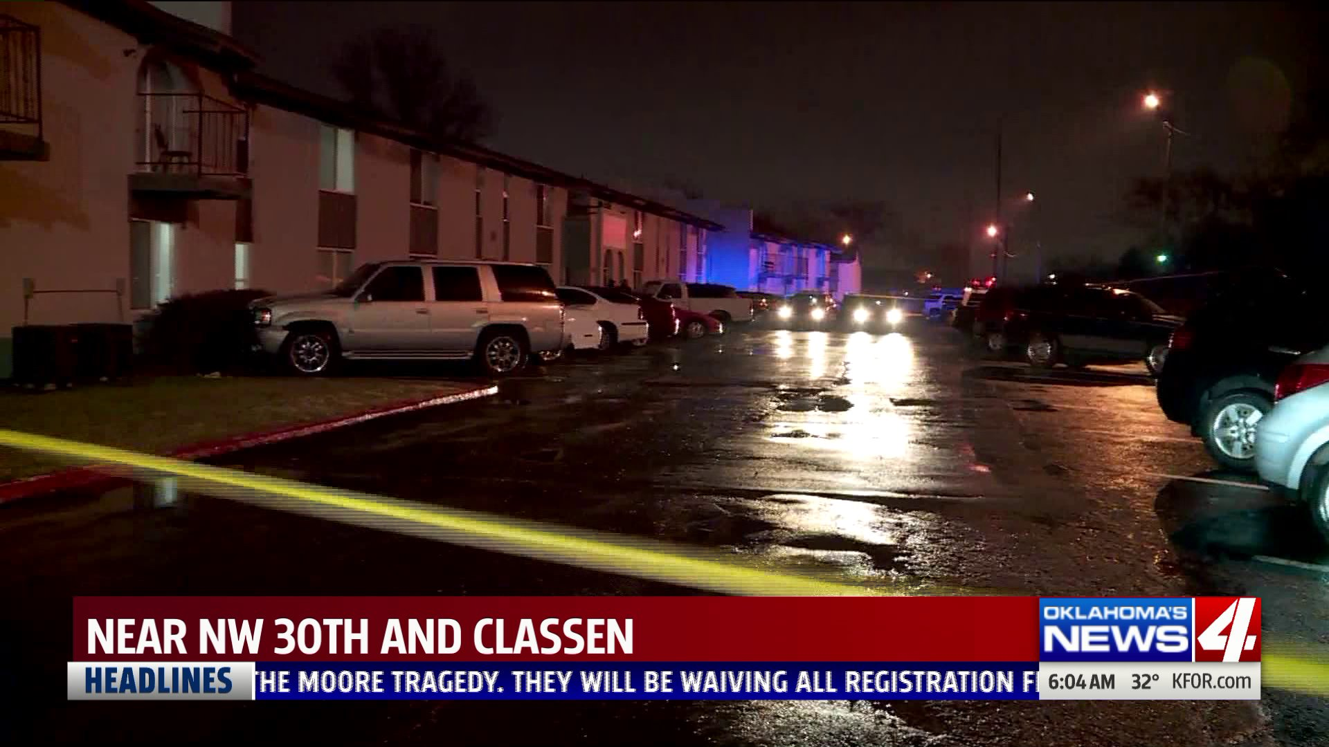 Shooting at NW 30th and Classen