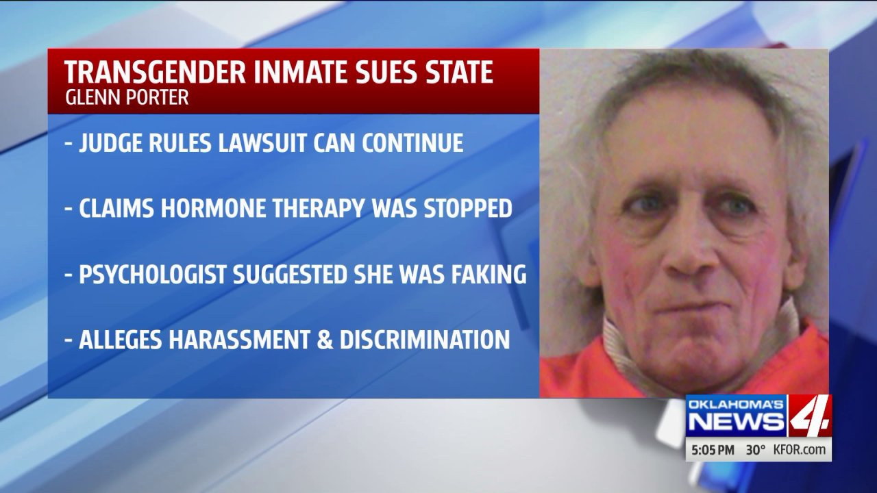 Transgender inmate receives approval to sue Oklahoma prison officials