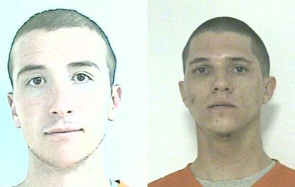 Kaden White (left) and Devan Johnson (right)