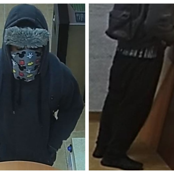 The FBI is searching for this suspect who robbed Focus Federal Credit Union, 13325 N. MacArthur, in OKC on Friday.