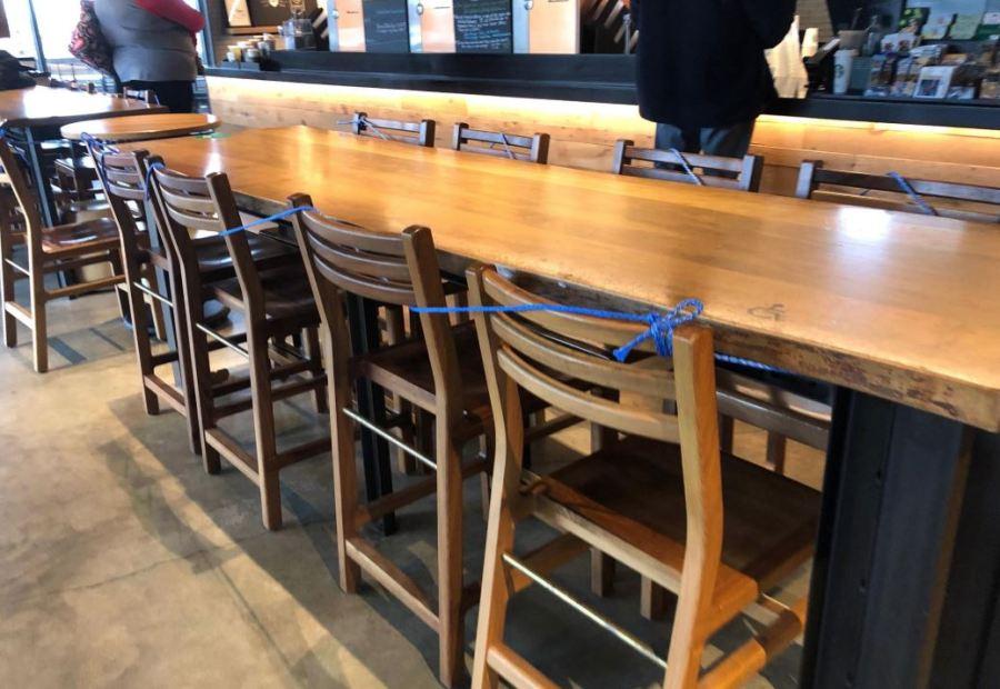 Starbucks closing down eating areas amid coronavirus