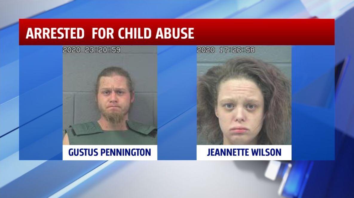 Gustus Pennington and Jeannette Wilson
