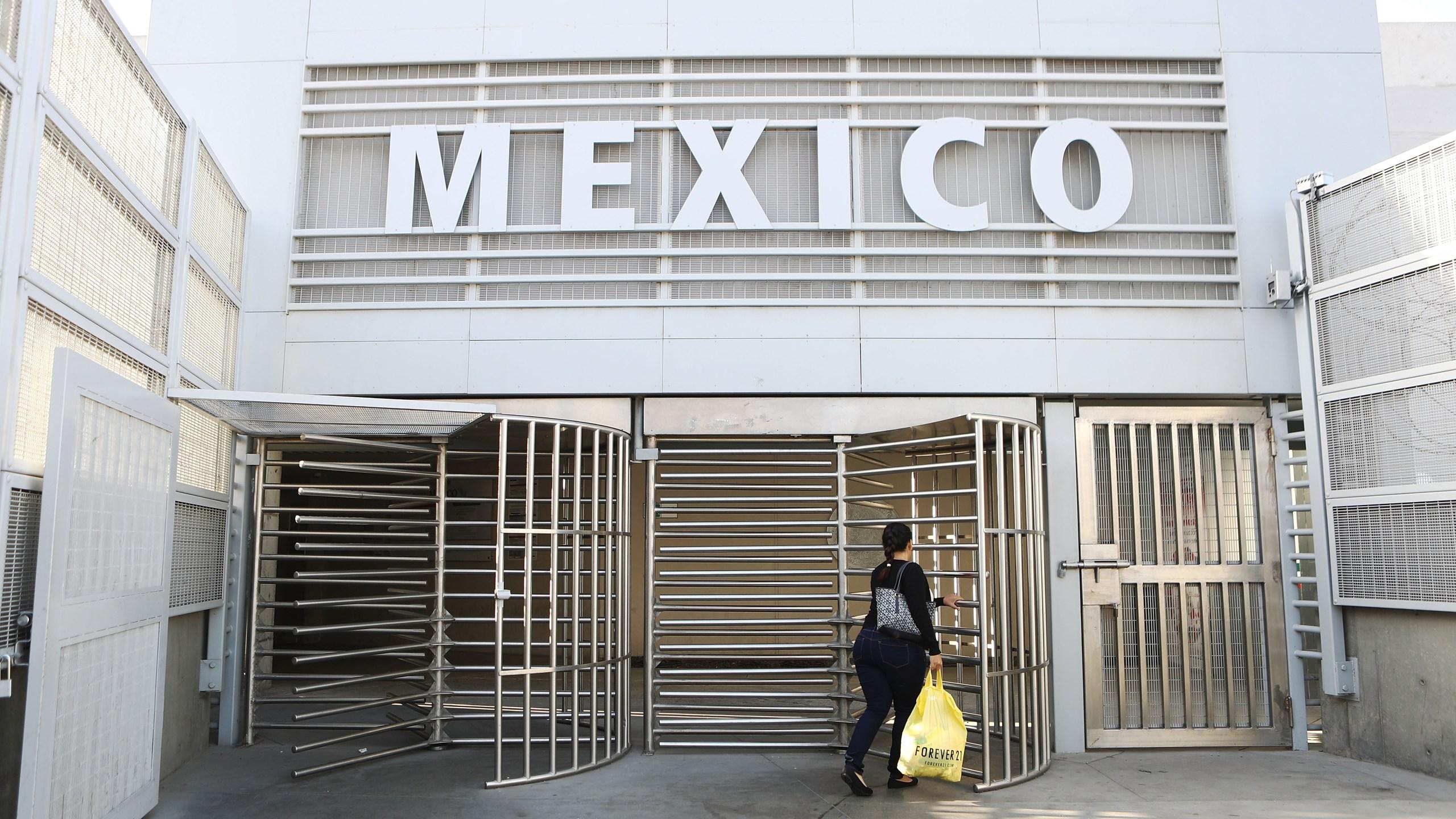 U.S. Customs And Border Patrol Monitors U.S. - Mexico Border Crossing