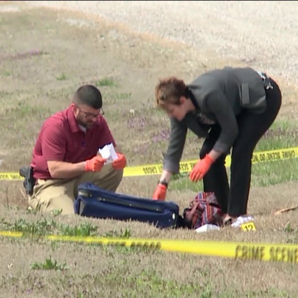 OSBI agents gather evidence