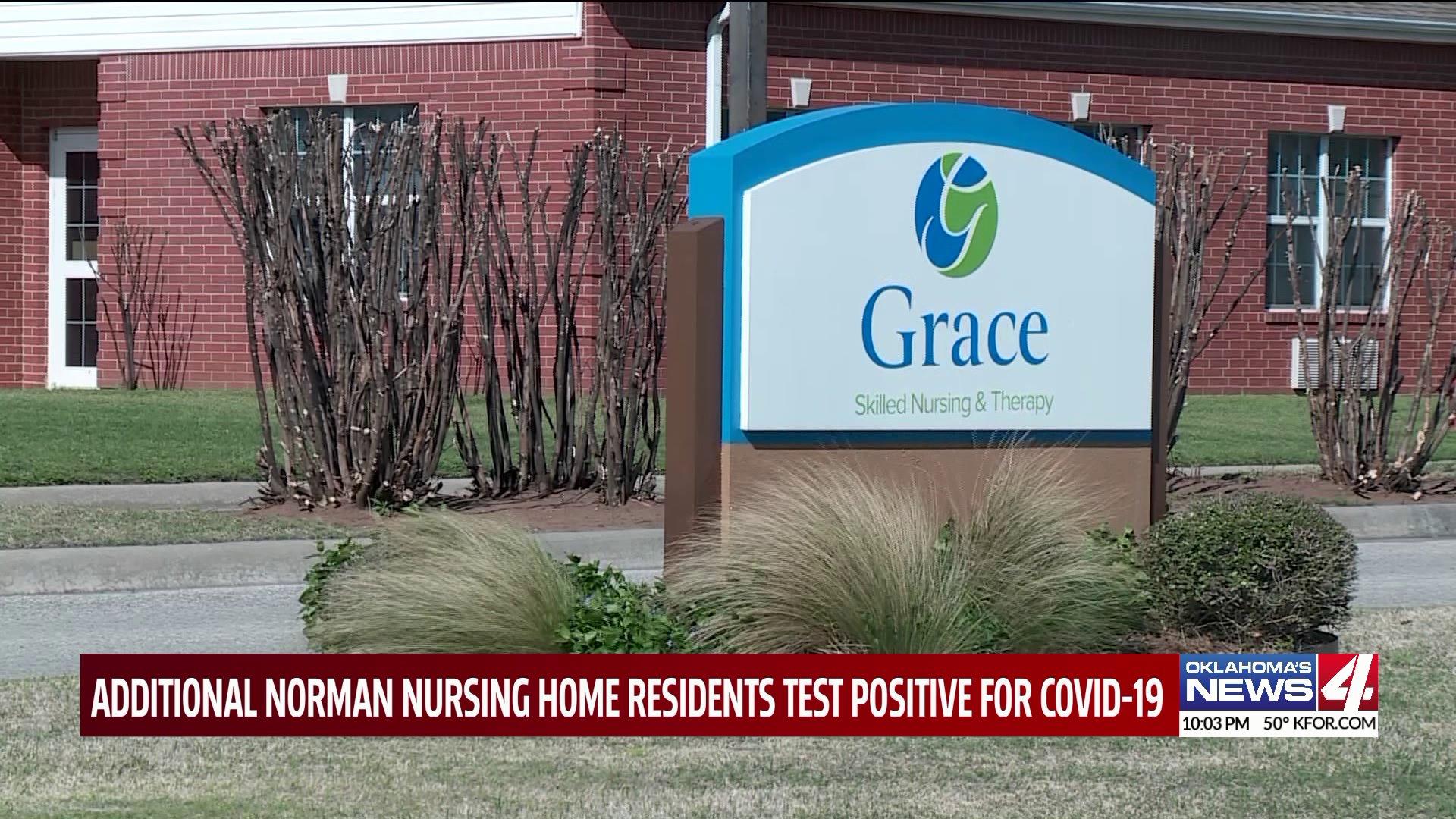 grace living center sign