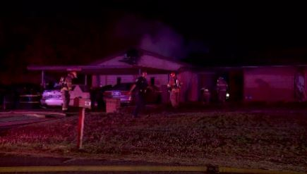 Crews put out a house fire in Spencer.