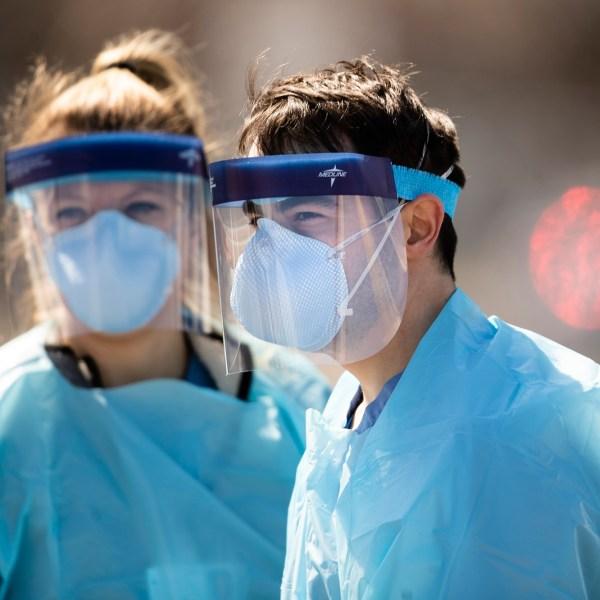 Virus Outbreak New Jersey Testing
