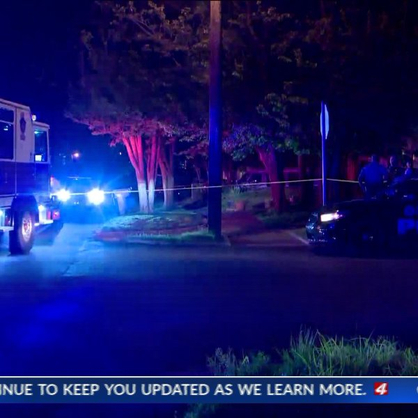 One person is dead after a homicide in N.W. Oklahoma City.