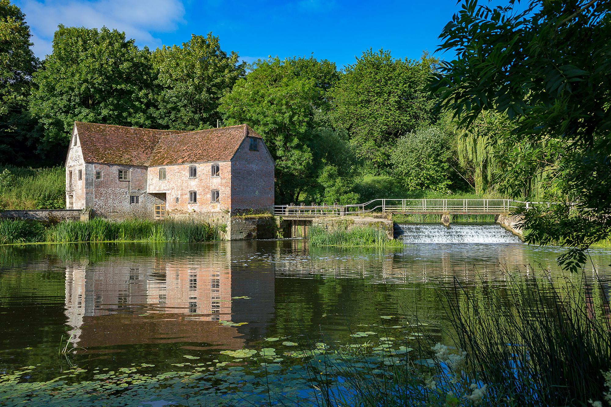 Sturminster Newton Mill sits on the River Stour