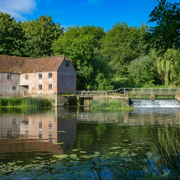Sturminster Newton Mill sits on the River Stour