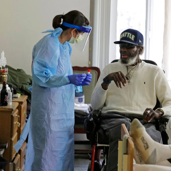 Virus Outbreak Nursing Home Testing