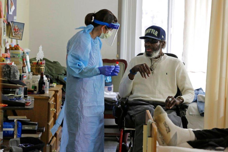 Virus Outbreak Nursing Home Testing