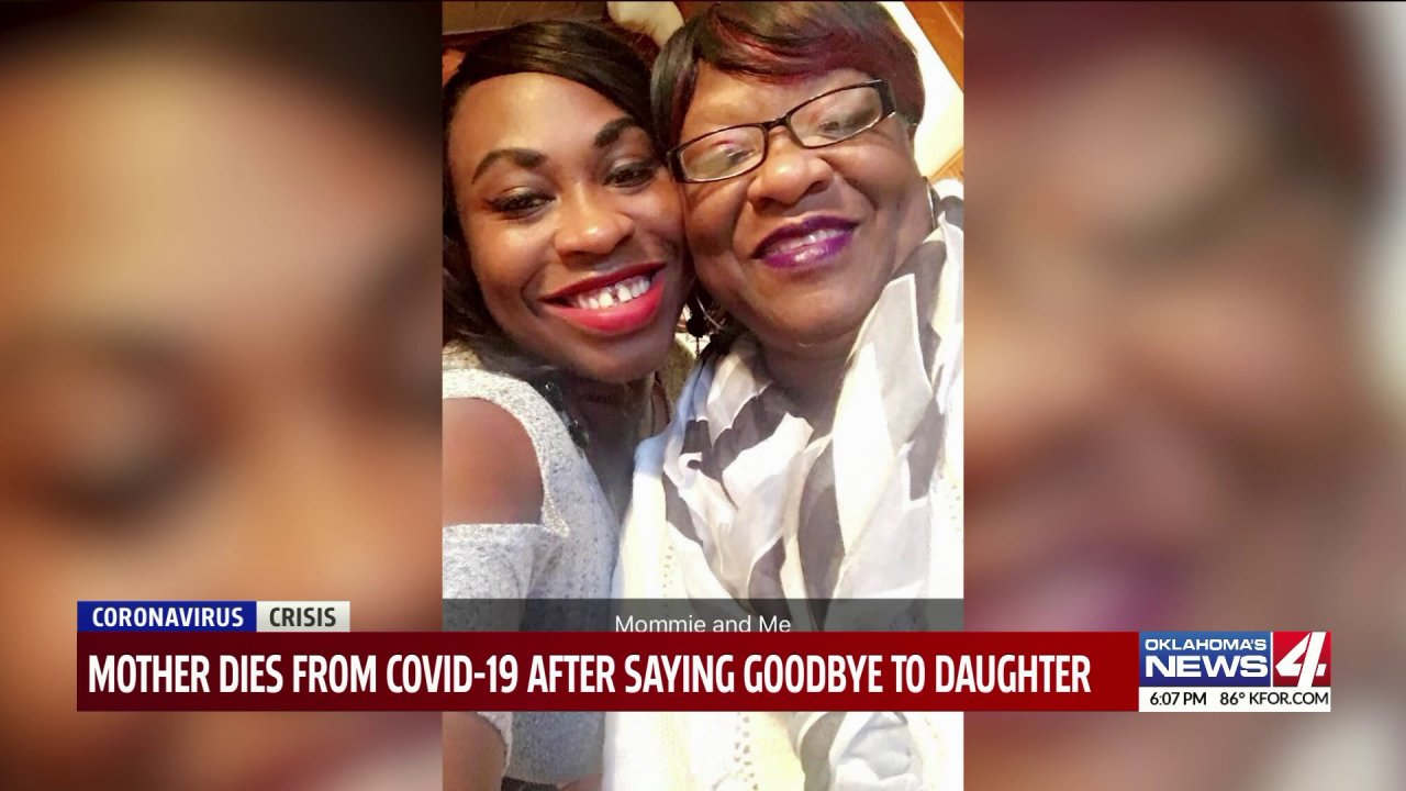 Oklahoma family remembers mom that passed away over the weekend due to COVID-19
