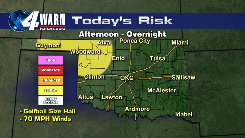 Severe Weather Risk Thursday