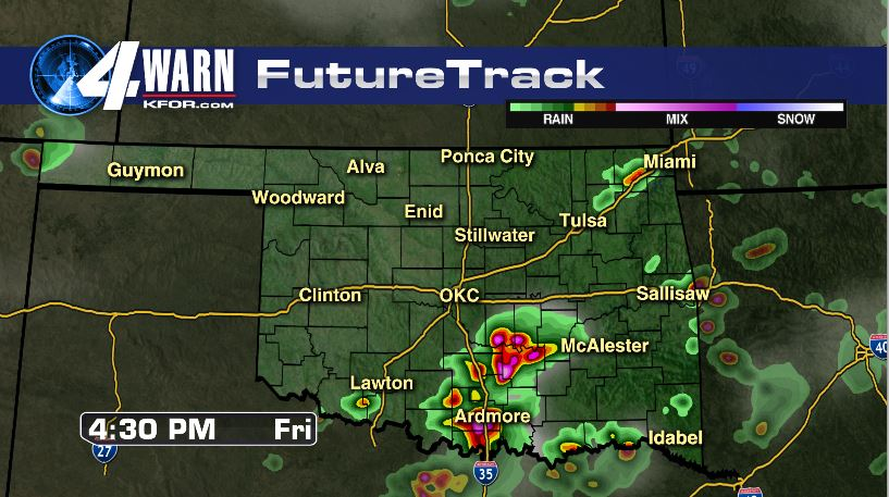 Severe Storms Possible Friday Afternoon (SE)
