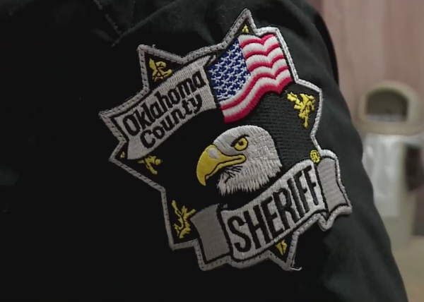 Oklahoma County Sheriff badge