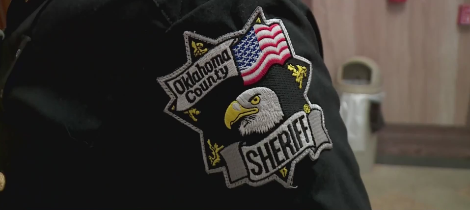Oklahoma County Sheriff badge