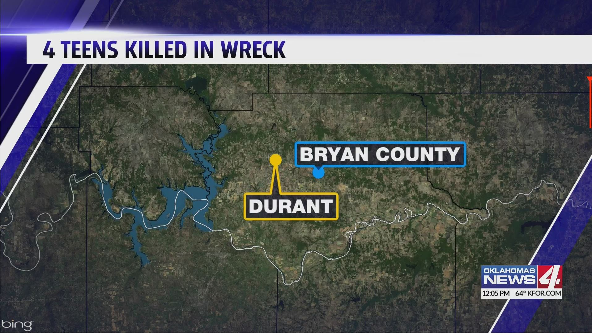 Four teens killed in wreck