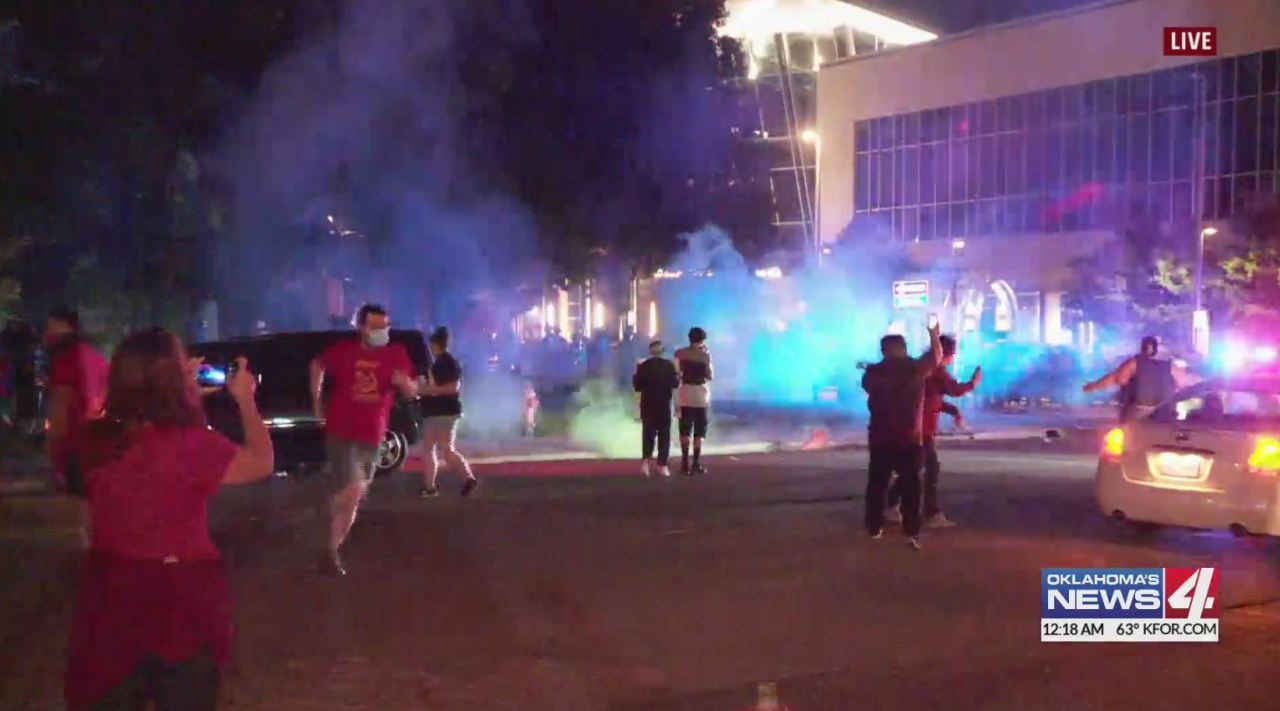 Oklahoma City Police release video overview of their response to protests in wake of George Floyd's death at hands of Minneapolis police