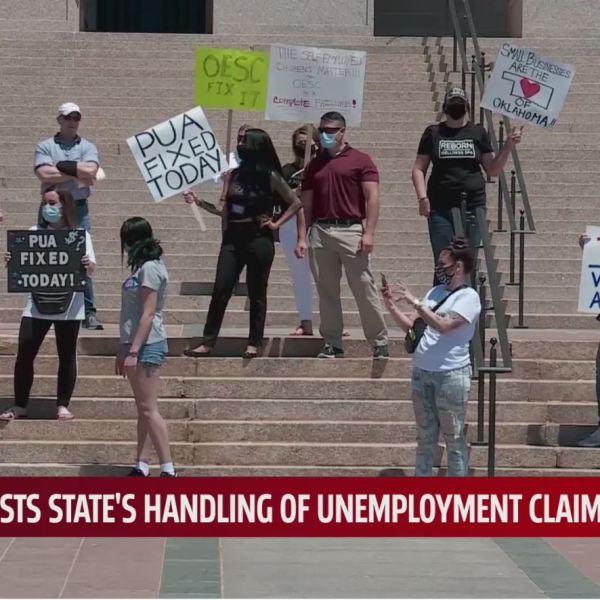PUA protest at capitol