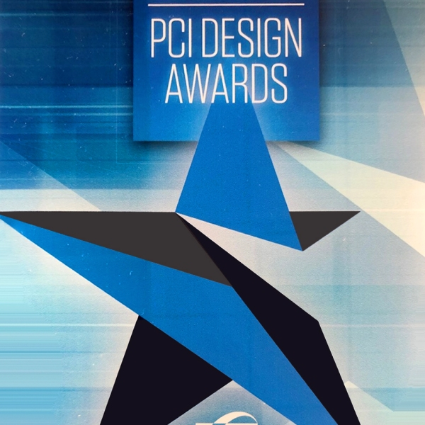 graphic of the PCI Design Award of 2020