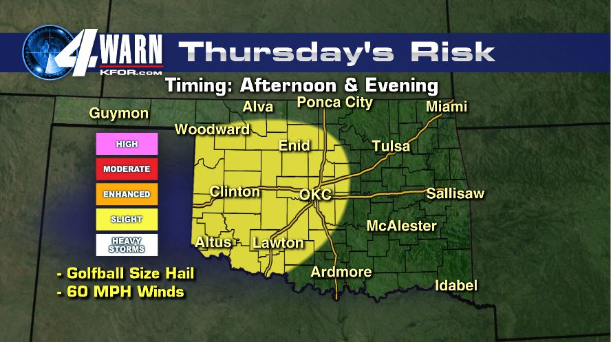 Severe Weather Possible Thursday