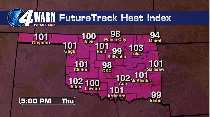 Hot and Humid Weather Ahead