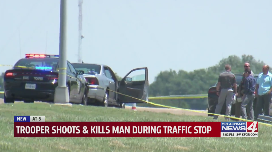 An Oklahoma Highway Patrol trooper shot and killed a man in Craig County. The shooting is under investigation.