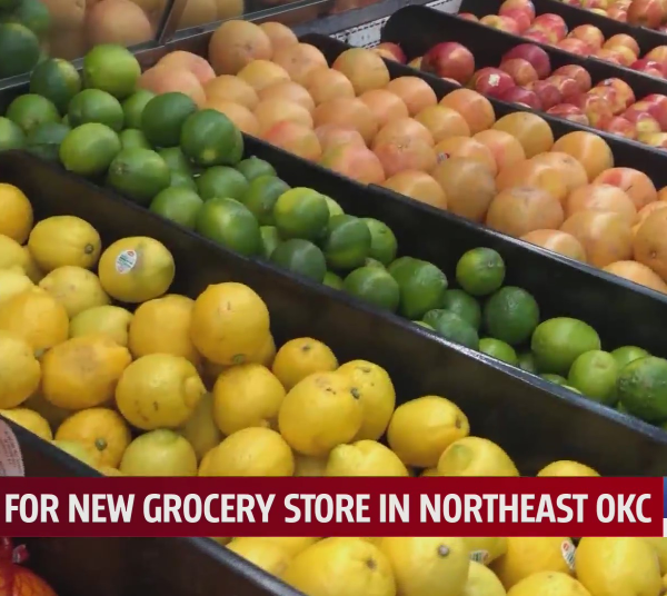 City leaders promise that a Homeland grocery store is in the works for Northeast Oklahoma City.