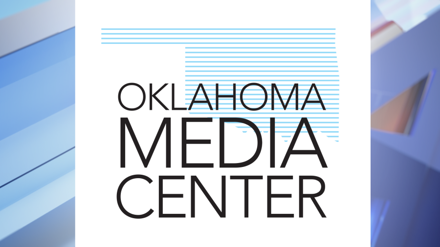 picture of a graphic that says Oklahoma Media Center