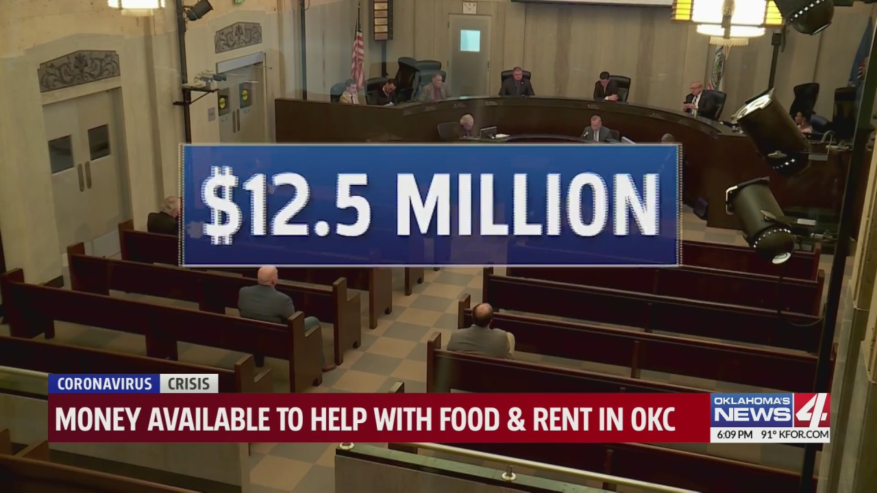 Oklahoma City approves tens of millions in federal cash to assist residents with payments - KFOR Oklahoma City thumbnail