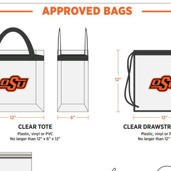 OSU clear bag policy