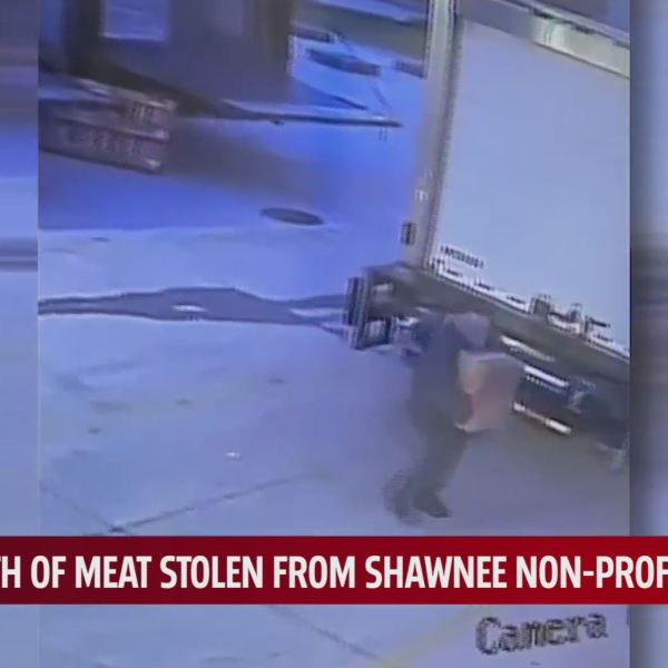 Meat stolen from truck