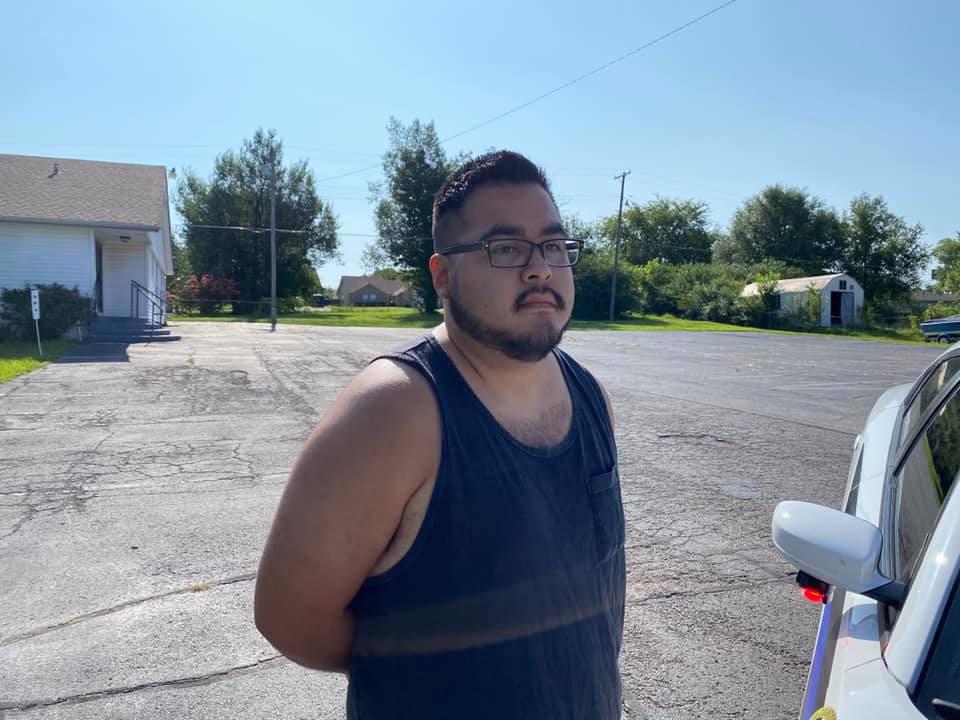 arrest photo of Aaron Hernandez