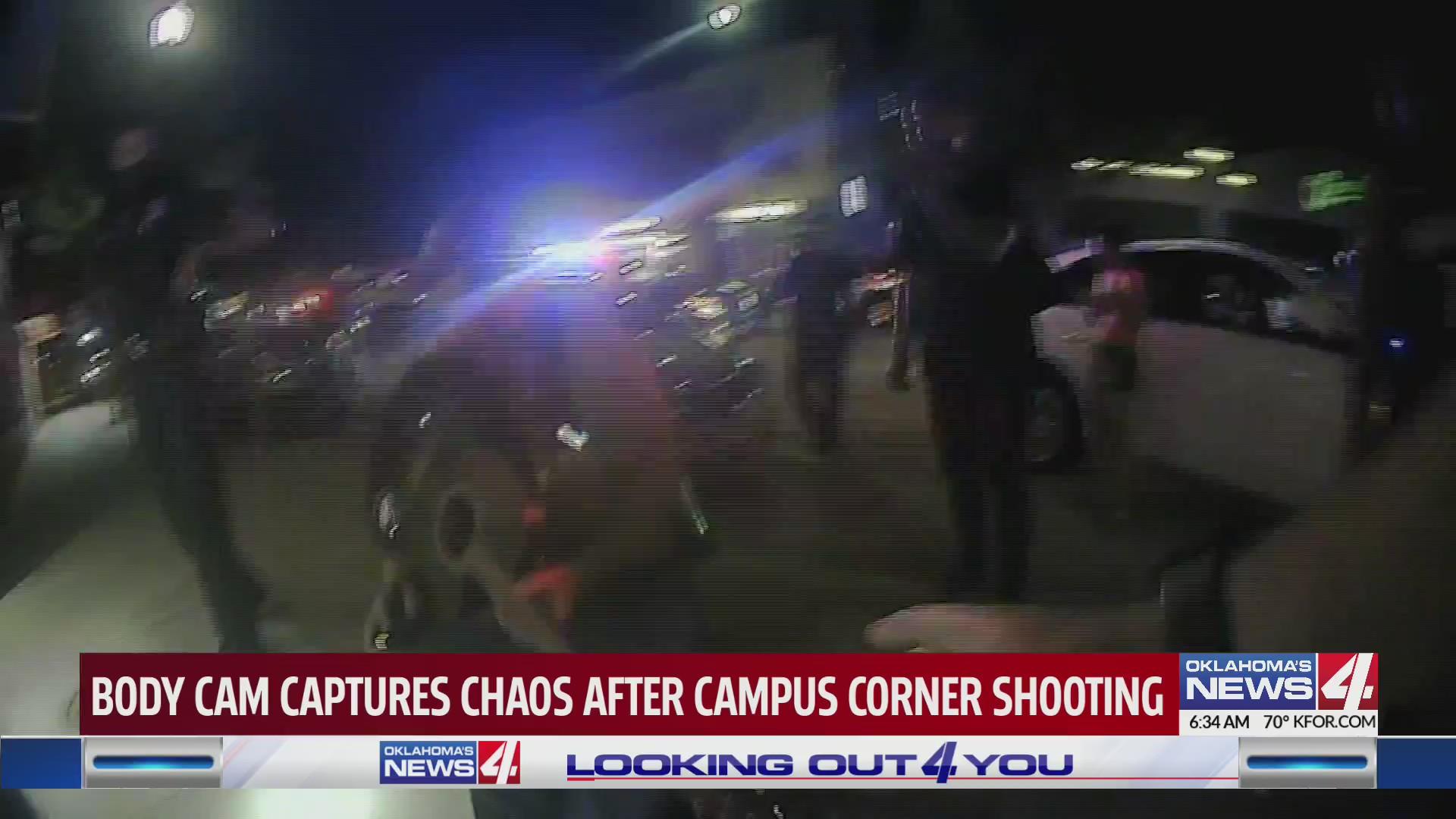 Campus Corner shooting body camera footage