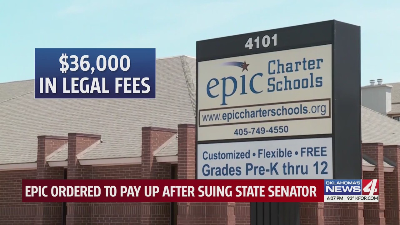 Epic Charter Schools ordered to pay legal fees, sanctions of state senator after libel suit
