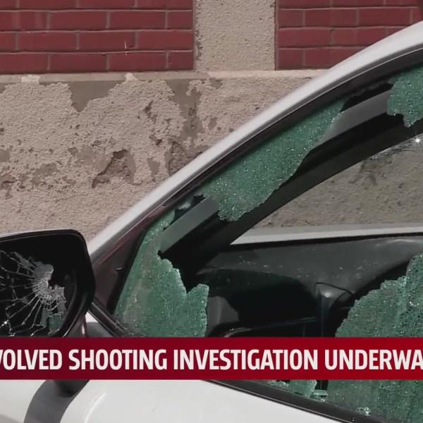 Officer involved shooting scene