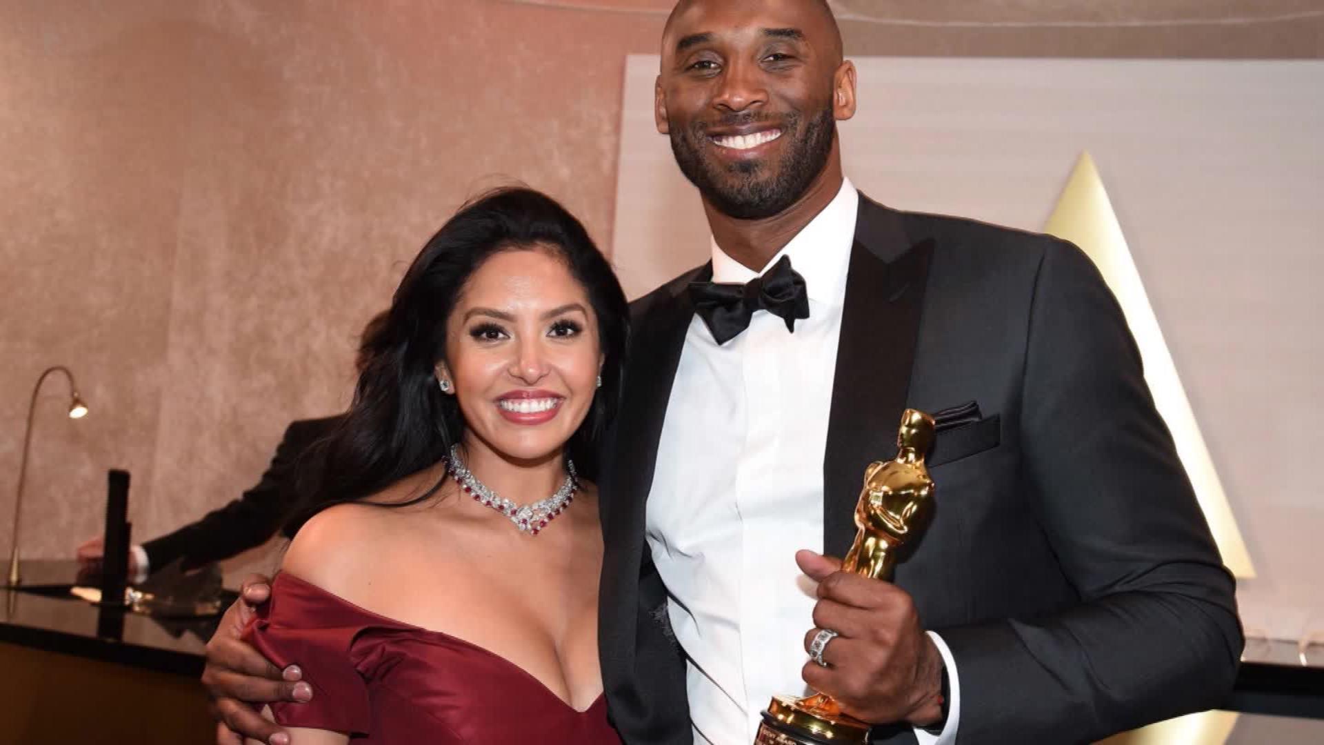 Vanessa and Kobe Bryant at the Oscars
