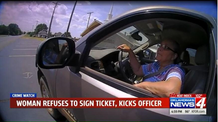 Oklahoma woman accepts plea deal in traffic stop arrest
