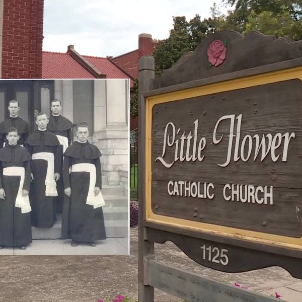 Picture of the Little Flower Church in Oklahoma City