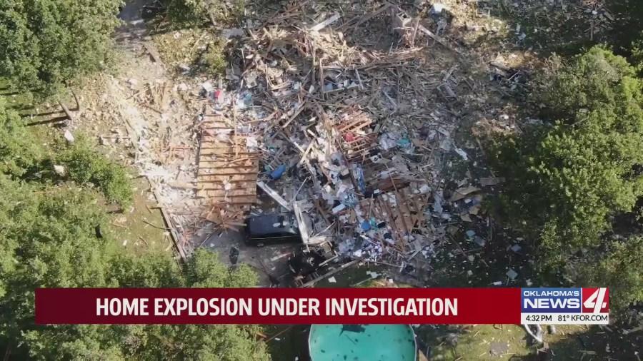 Home explosion scene
