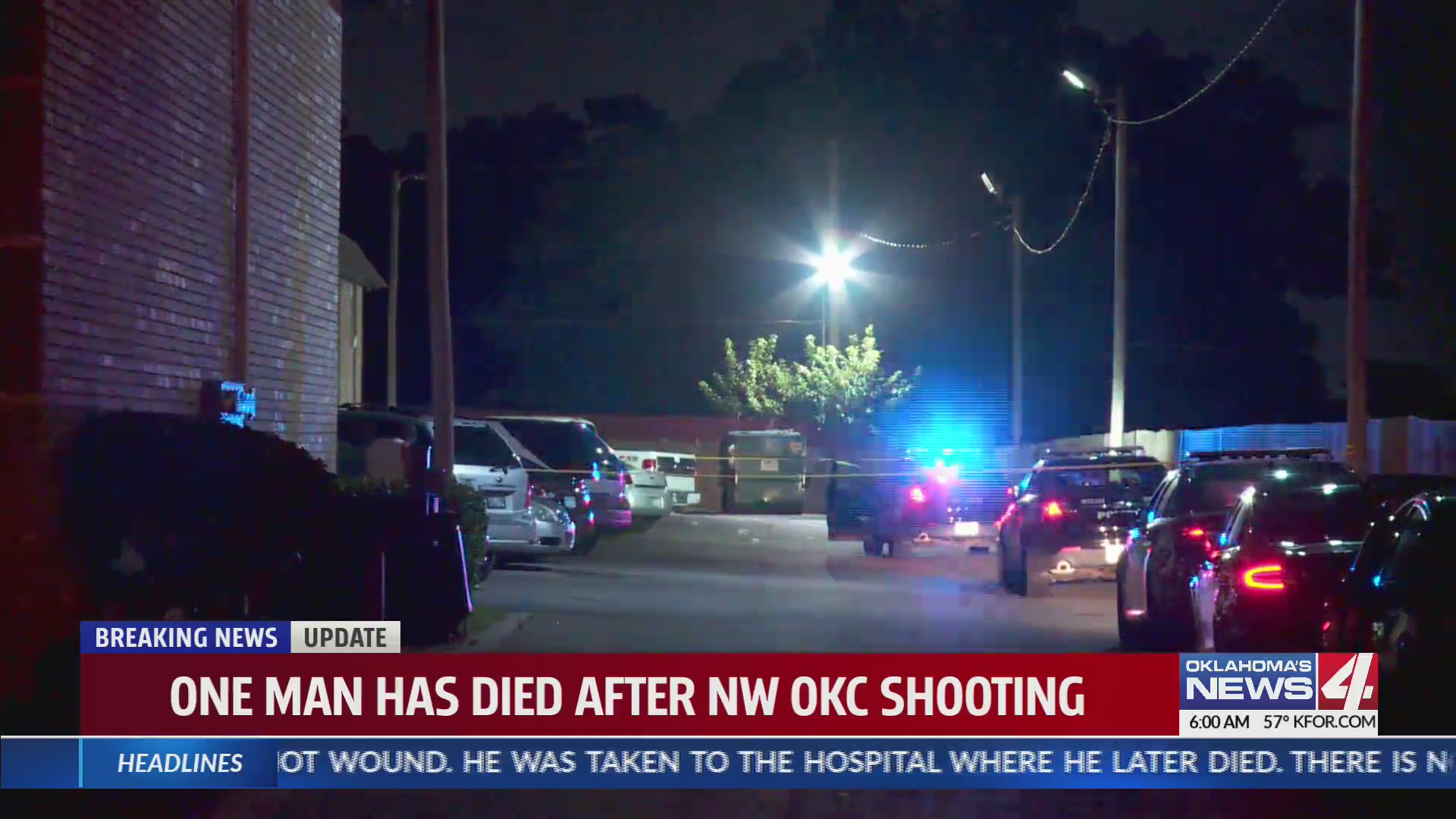 One man killed in NW OKC shooting